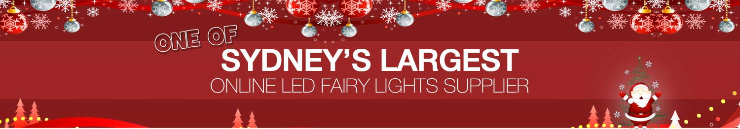 One of Sydney's Largest online LED Fairy Light Supplier