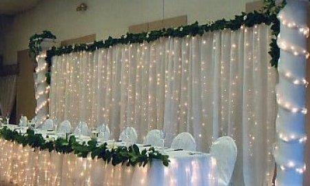 360l Led Backdrop Curtain Wedding Light 6m X 2 5m White