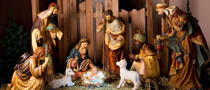 Christmas Lights And Christmas Decorations