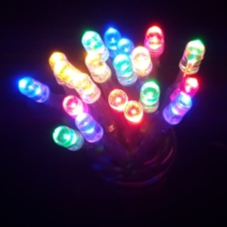 20 LED Battery Operated fairy lights in Multi colour 2M