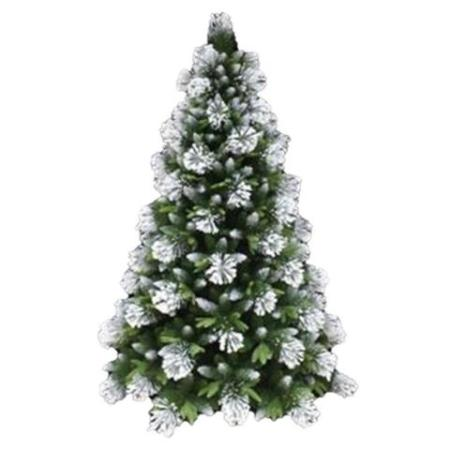 White Snow flocked Artificial Christmas Tree 1.8m