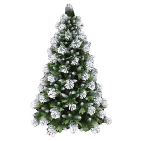2.1m White Snow flocked Artificial Christmas Tree