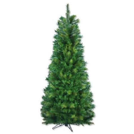 1.8m Green Slimline Artificial Christmas Tree