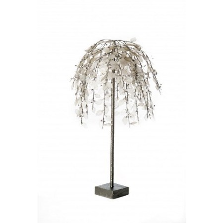 91cm Capiz Leaf Manor Decorative Tree