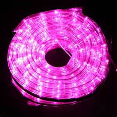 36v Low Voltage LED Rope Light 8 function controller 10M Purple