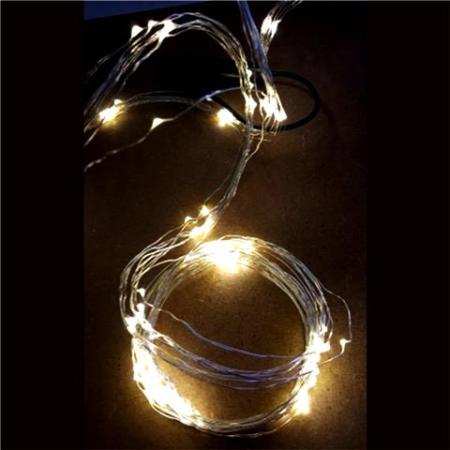 6v LED Wire Fairy Light String Curtain Light 160 lights Warm White