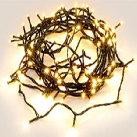 480L 38m Warm White Connectable LED Fairy Light String With 8 Functions and Timer