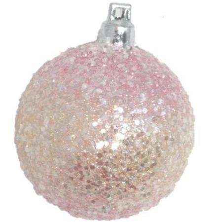 60mm Pink Gelato Bauble Christmas Tree Decoration