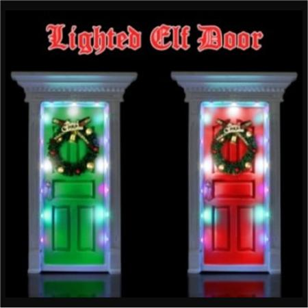 LED Elf Door Christmas Decorations  sc 1 st  Sydneyu0027s Christmas Barn & Very Cute LED Elf Door Christmas Decorations in Stock