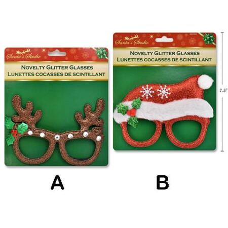 Novelty Ho Ho Ho Sunglasses Christmas Accessories