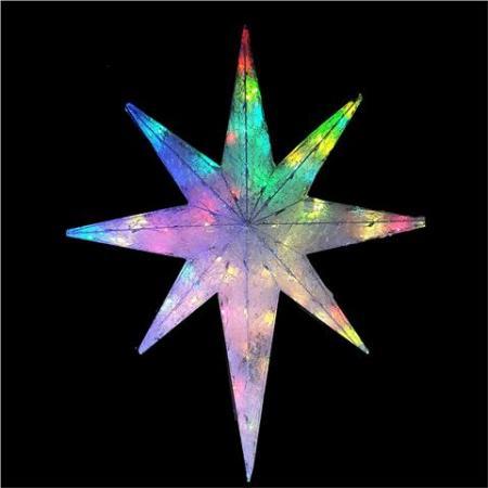 North star christmas lights