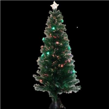 - Fibre Optic Christmas Tree 180cm Multi Colour With 20 LED Stars