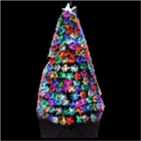 Fibre Optic Christmas Tree 180cm Multi Colour 220 TIPS