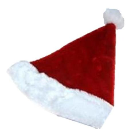 1756bf43f279b Luxury Plush Christmas Santa Hat