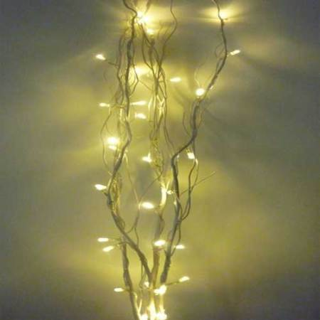 Wedding Battery  Led Twig Lights Warm White 32 lights 4 Twigs