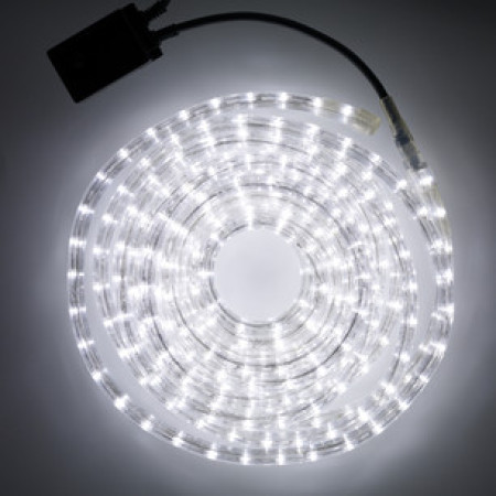 36v Low Voltage LED Rope Light 8 function controller 20M White