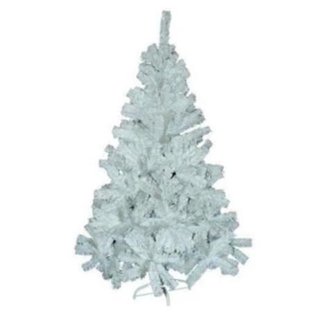 1.8m Hinged White Artificial Christmas Tree