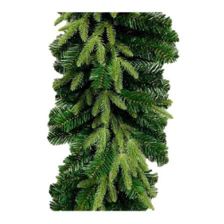 270cm Green Mixed Pine Needle Christmas Garland 180 tips