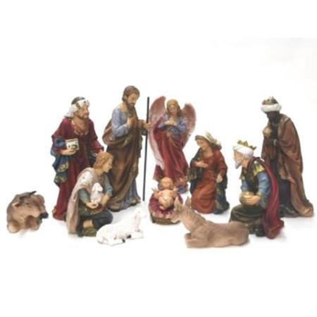 11 piece 600mm large outdoor nativity set
