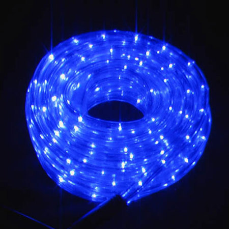 36v Low Voltage LED Rope Light 8 function controller 20M Blue