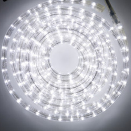 36v Low Voltage LED Rope Light 8 function controller 10M White