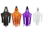 Hanging Ghost Witch Pumpkin Ghoul Halloween Decoration 2.25m