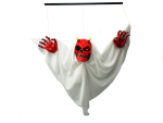 Halloween Scary Ghoul with Movement and Sound Decoration