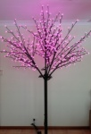600 light LED Pink Light Up Cherry Blossom Tree 2.5mtr