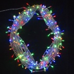 500  light LED Fairy Lights in Multi Colour on Clear Wire 45 metres