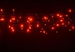 500  light LED Fairy Lights in Red on Clear Wire 35 metres