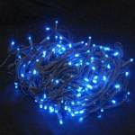 LED Fairy Lights 180 Lights Blue on  Green wire 15 metre Indoor Use Only on Sale