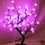 Light up Cherry Blossom Pink Tree 45cm