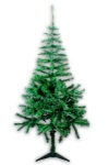120cm Artificial Green Hinged Christmas Tree Budget Style