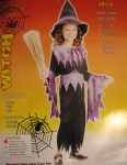 Halloween Costume Girls Witch Outfit