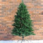 Green Artificial Christmas Tree 2.3 m