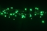 200 LED Fairy Lights in Green on Green Wire 14 metres